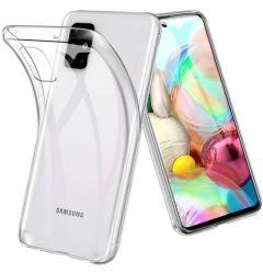 Husa Samsung Galaxy A51 5G Lemontti Silicon Transparent