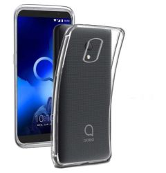 Husa Alcatel 1C (2019) Lemontti Silicon Transparent