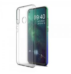 Husa Alcatel 1S (2020) Lemontti Silicon Transparent