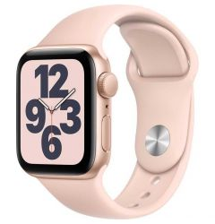 Watch Original Apple SE GPS 40mm Gold Aluminium Case Pink Sand Sport Band