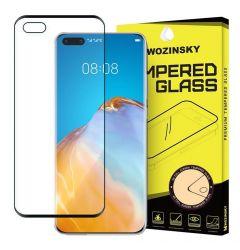Folie Huawei P40 Lite Wozinsky Tempered Glass Full Glue Negru