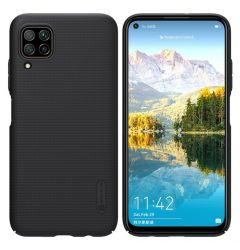 Husa Huawei P40 Lite Nillkin Super Frosted Shield Case Negru