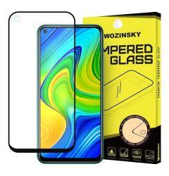 Folie Xiaomi Redmi Note 9 / Redmi 10X 4G Wozinsky Tempered Glass Full Glue Negru
