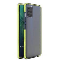 Husa Xiaomi Redmi Note 9 / Redmi 10X 4G Lemontti Spring Case Galben