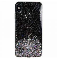 Husa Xiaomi Redmi 9A Wozinsky Star Glitter Negru