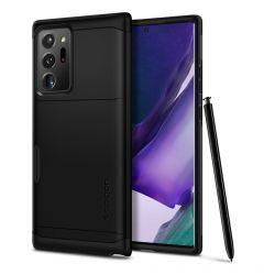 Husa Samsung Galaxy Note 20 Ultra Spigen Slim Armor Cs Black
