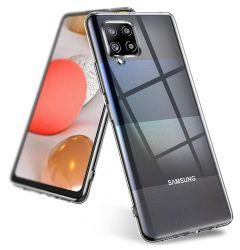 Husa Samsung Galaxy A42 5G Lemontti Silicon Transparent
