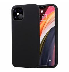 Husa iPhone 12 / 12 Pro Goospery Soft Feeling Black