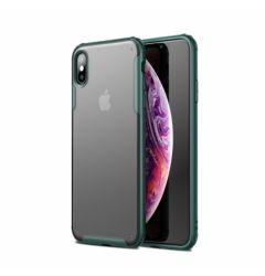 Husa iPhone XS / X Lemontti Magic Armor Dark Green