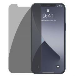 Folie iPhone 12 Pro Max Baseus Sticla Anti-Peeping White