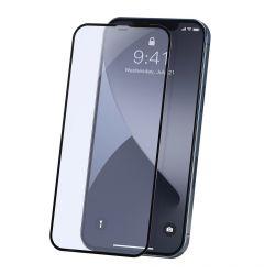 Folie iPhone 12 / 12 Pro Baseus Curbata Full Screen Anti-Bluelight Black