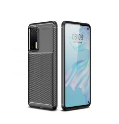 Husa Huawei P40 Lemontti Carbon Fiber Black