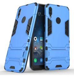 Husa Huawei Y7 2019 Lemontti Shockproof Case Blue