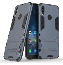 Husa Huawei Y7 2019 Lemontti Shockproof Protective Case Navy Blue