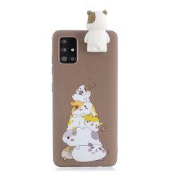 Husa Samsung Galaxy A51 Lemontti Cartoon Stack Of Hamsters
