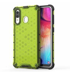 Husa Samsung Galaxy A30 Lemontti Honeycomb Green