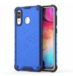Husa Samsung Galaxy A30 Lemontti Honeycomb Blue