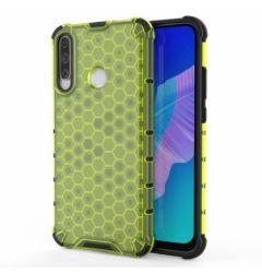 Husa Huawei Y7P Lemontti Honeycomb Green