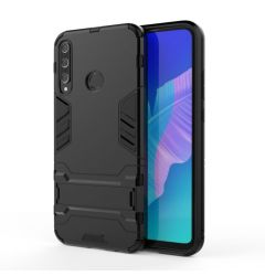 Husa Huawei P40 Lite E / Y7P Lemontti Shockproof Case Black