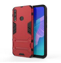 Husa Huawei P40 Lite E / Y7P Lemontti Shockproof Case Red