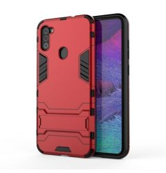 Husa Samsung Galaxy A11 Lemontti Shockproof Case Red