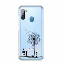 Husa Samsung Galaxy A11 Lemontti Pattern Highly Dandelion