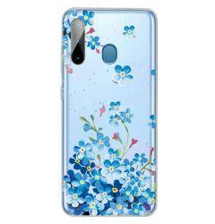 Husa Samsung Galaxy A11 / M11 Lemontti Painted Star Flower