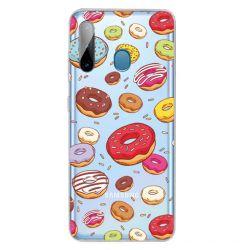 Husa Samsung Galaxy A11 / M11 Lemontti Painted Donuts