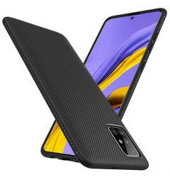 Husa Samsung Galaxy A51 Lenuo Leshen Series Black
