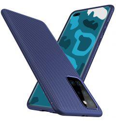 Husa Huawei P40 Pro Lenuo Leshen Series Blue