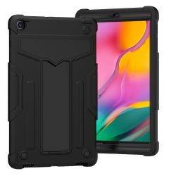 Husa Tableta Samsung Galaxy Tab A 2019 10.1 inch Lemontti T-shaped Bracket Black