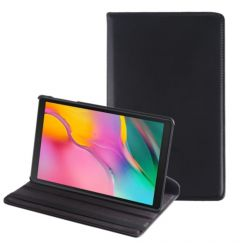 Husa Tableta Samsung Galaxy Tab A 2019 10.1 inch Lemontti Litchi Flip Leather Case Black