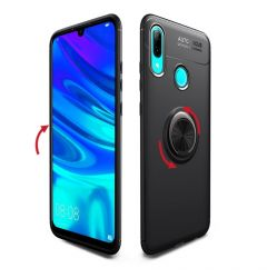 Husa Huawei P Smart (2019) Lenuo Shockproof TPU Black Gold