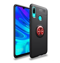 Husa Huawei P Smart (2019) Lenuo Shockproof TPU Black Red