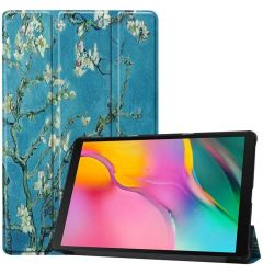 Husa Tableta Samsung Galaxy Tab A 2019 10.1 inch Lemontti Custer Texture Pattern Colored Drawing Apr