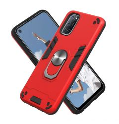 Husa Oppo A72 / A52 / A92 Lemontti Armour Series 2 in 1 Red