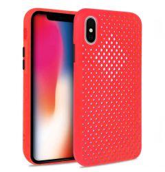 Husa iPhone X / XS Lemontti Bubble Rosu