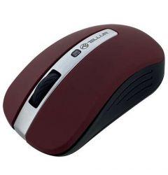 Tellur Mouse Basic Wireless Rosu inchis (LED, fara fir)
