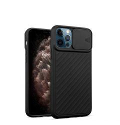 Husa iPhone 12 / 12 Pro Just Must Camo Black