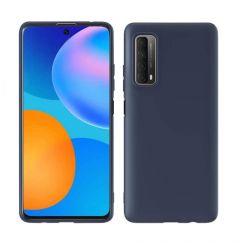 Husa Huawei P Smart 2021 Lemontti Silicon Silky Bleumarin