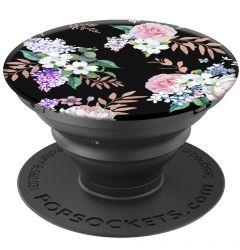 Suport Popsockets PopGrip Stand Adeziv Black Floral
