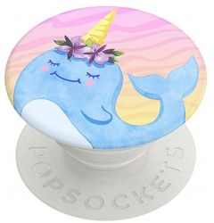 Suport Popsockets PopGrip Stand Adeziv Narwhal Princess