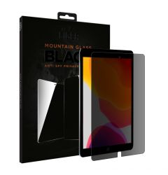 Folie iPad 10.2 inch 2019 / 2020 Eiger Sticla 2.5D Mountain Glass Privacy Black
