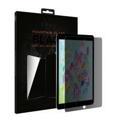 Folie iPad 9.7 inch 2017 / 2018 Eiger Sticla 2.5D Mountain Glass Privacy Black