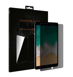 Folie iPad Air 3 (2019) / iPad Pro 10.5 inch Eiger Sticla 2.5D Mountain Glass Privacy Black