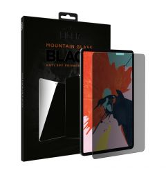 Folie iPad Pro 12.9 inch 2018 / 2020 Eiger Sticla 2.5D Mountain Glass Privacy Black