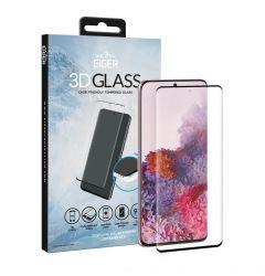 Folie Samsung Galaxy S20 FE G780 Eiger Sticla 3D Case Friendly Clear Black