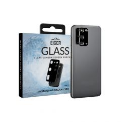 Folie Sticla Camera Samsung Galaxy S20 Eiger 2.5D Glass Clear Black