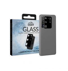 Folie Sticla Camera Samsung Galaxy S20 Ultra Eiger 2.5D Glass Clear Black