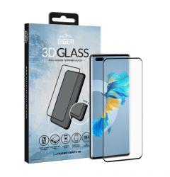 Folie Huawei Mate 40 Eiger Sticla 3D Edge to Edge Clear Black